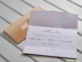 Zarfsız Düğün Davetiyesi 100 Adet