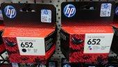 HP 652 SİYAH / HP 652 RENKLİ KARTUŞ 1 SET F6V24A / F6V25AE DESKJET 1115/ ( 2021 YIL )