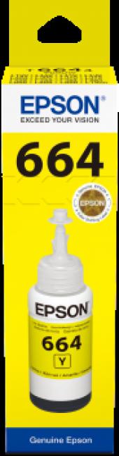 Epson T6644 C13t66444a Sarı Mürekkep Kartuş 70ml L550 L200 L220
