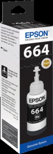 Epson T6641 C13t66414a Siyah Mürekkep Kartuş...