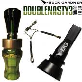 Buck Gardner Double Nasty 3 Ördek Düdüğü Seti Camo...