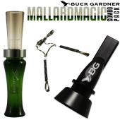 Buck Gardner Mallard Magıc Ördek Düdüğü Seti...