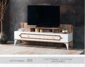 Kaykolsan Tv Sehpası Ahşap Ayak Şık Tasarım Nk 19