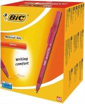 Bic Tükenmez Kalem Kırmızı 60lı Paket Round Stic Ücretsiz Kargo