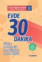 Tudem 3.sınıf Evde 30 Dakika Öğrenci Kitabı