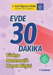 Tudem 1. Sınıf Evde 30 Dakika Öğrenci Kitabı