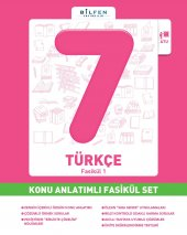 BİLFEN 7. SINIF TÜRKÇE KONU ANLATIMLI FASİKÜL SET