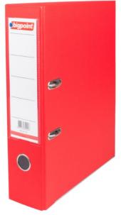 Bigpoint Geniş Plastik Klasör Kırmızı-25Lİ Koli