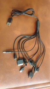 2 Alana 1 Hediye Çoklu Usb Şarj Kablosu 10 In 1
