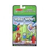 Magic Water 4 Sayfa Hayvanlar Boyama Seti
