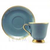 Bohemia Türk Kahvesi Seti 6lı Colours Açık Mavi
