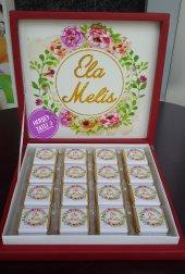 Lart Du Marka Kutu Dizaynlı Bebek Çikolatası 48 Adet