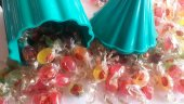 Kent Bayramlık Karışık Meyve Aromalı Mini Bonbon Akide Şekeri