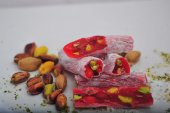 Full Antep Fıstıklı Narlı Lokum 1.sınıf Kalite Ve Lezzet 500 G