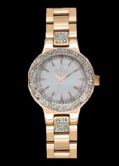 Belmond Srl486.420 Roze Kaplama Taş Detaylı Bayan Saat