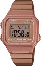 Casio B650WC-5ADF Roze Retro Kol Saati ERSA Garantili