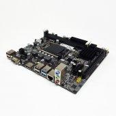 Quadro Intel H61 Soket Lga1155 Ddr3 1600 Mhz Vga Hdmı Anakart H61 B75u3