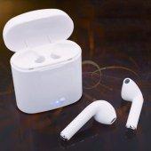 i7 TWS Mini Bluetooth 5.0 Kablosuz Kulaklık Apple İphone Samsung iOS Android Uyumlu-6