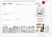 Funny Mat Business Planner 48x33.5 Cm.