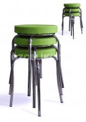 Tabure (6 Adet Set) Yeşil Renk