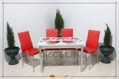 Masa Sandalye Takım Camlı Eko Takım