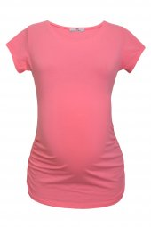 LuvmaBelly  Maternity 2009_2015 Pamuklu Hamile (7 Renk Mevcut) T-shirt-5