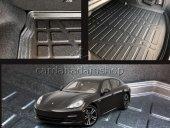 Porsche Panamera 2019 Model Bagaj Havuzu Kalın Malzeme Kalın