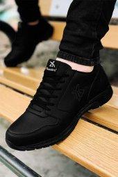 Tam Ortopedik Siyah Erkek Spor Ayakkabı