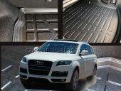 Audi Q7 2009 Model Bagaj Havuzu Tam Uyumlu Kokusuz Boşluksuz