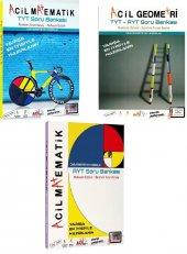 Acil Yayınları Tyt Ayt Matematik Geometri Soru Bankası Seti Yeni