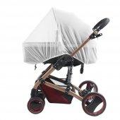 Puset Bebek Arabası Sinekliği Güneş Yağmur Koruyucu Cibinlik