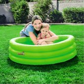 3 Boğumlu Mavi Renk Şişme Çocuk Yüzme Havuzu Kamp ...