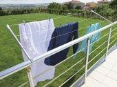Balkon Çamaşır Kurutma Askılığı Yuvarlak Pks06...