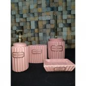 Paçi 4 Parça Porselen Lüx Banyo Seti