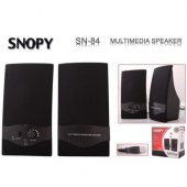 Snopy Sn 84 1+1 Speaker Siyah Usb