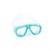 Bestway 22011 Caymen Çift Camlı Silikonlu Çocuk Dalış Maskesi Yeşil