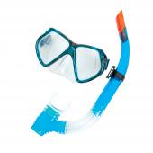 Bestway 24005 Silikon Maske Ve Şnorkel Set Siyah Mavi