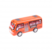 Birlik Pilli Kırılmaz Kırmızı Minibüs St66 01