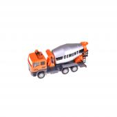 Birlik Sl1304 5db Çekbırak Pilli Metal Turuncu İnşaat Arabası