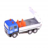 Birlik Sl1312db Pilli Çekbırak Metal Mavi Trafik İşaretli Araba