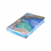 Candy Croc 9x14 Cm 80 Yaprak Çizgili Ciltli Mavi Bloknot