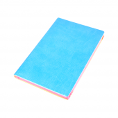 Candy S 351 9x14 Cm Çizgili 56 Yaprak Ciltli Mavi Bloknot