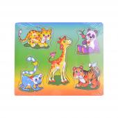 Canem Vahşi Doğa Hayvanları Ahşap Puzzle
