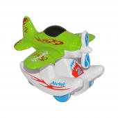 Canem 0783 84 Sürtmeli Metal Yeşil Uçak