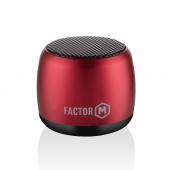 Factor M Mini Kablosuz Bluetooth Hoparlör Kırmızı...