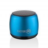 Factor M Mini Kablosuz Bluetooth Hoparlör Mavi