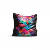 Flamingo Desenli Dijital Baskılı Dekoratif Kırlent...
