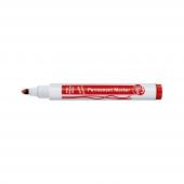 Mas Bıon Permanent Marker Yuvarlak Uç Kırmızı...