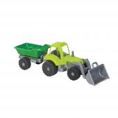 Mgs Oyuncak Power Workers Römorklu Ve Kepçeli Mini Traktör