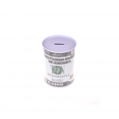 Nerox 10 Dolar Desenli Büyük Metal Kumbara Nrx 1016